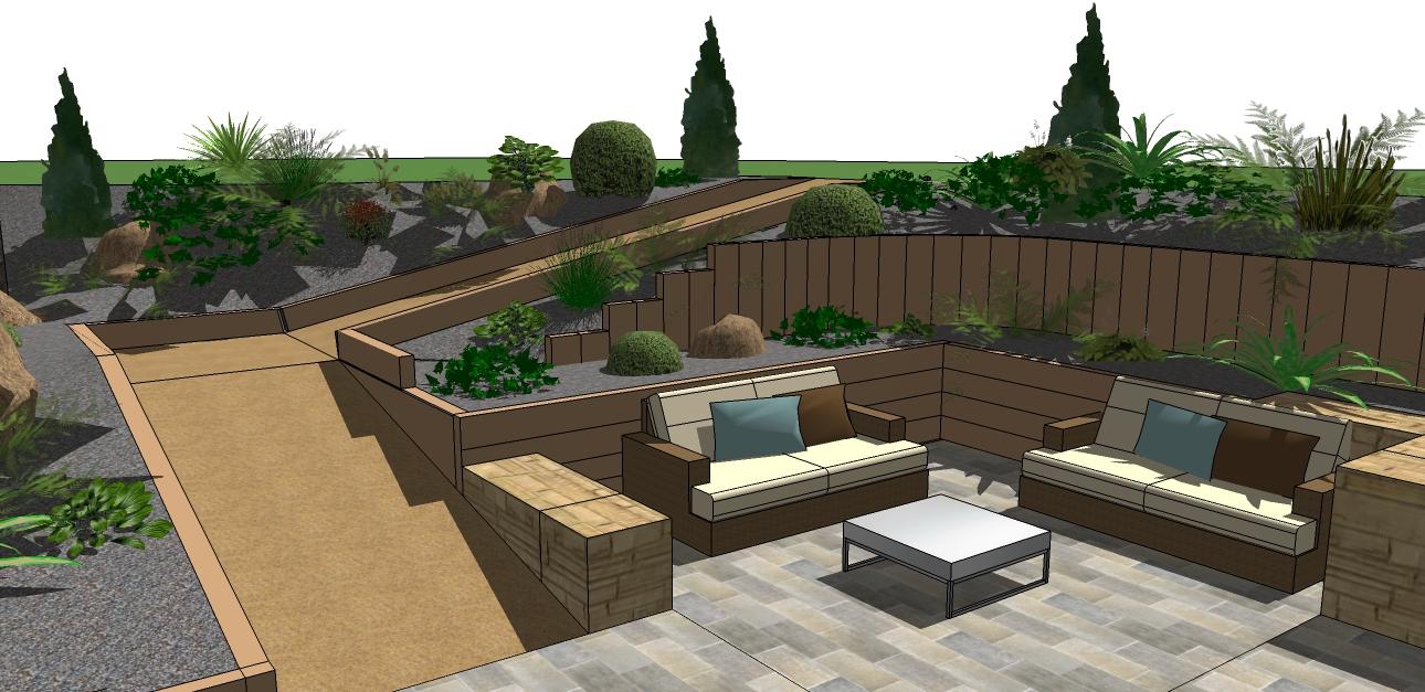 image 3d Jardin