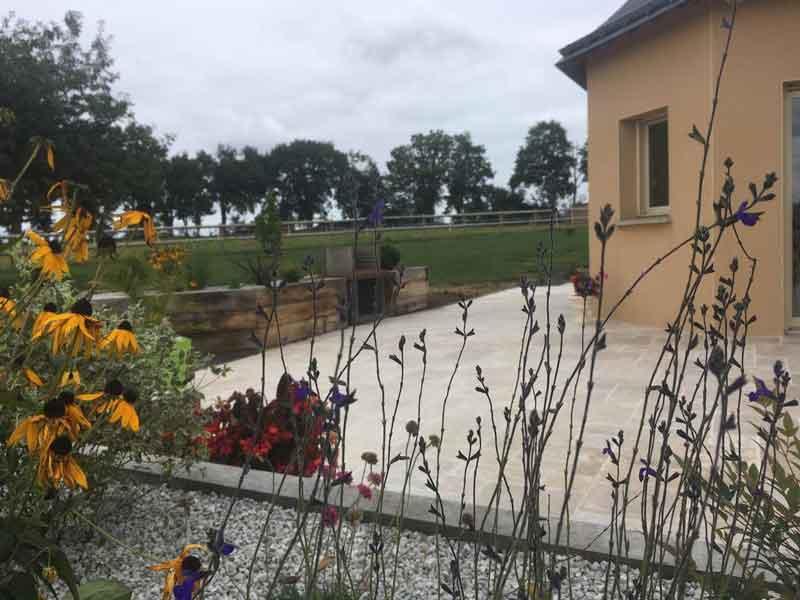 amenagement jardin campagne evron